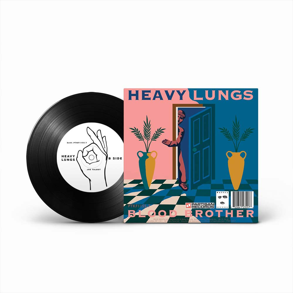 Release Artwork for Heavy Lungs + IDLES